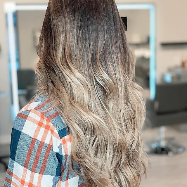 blonde balayage hair salon, Charleston, SC