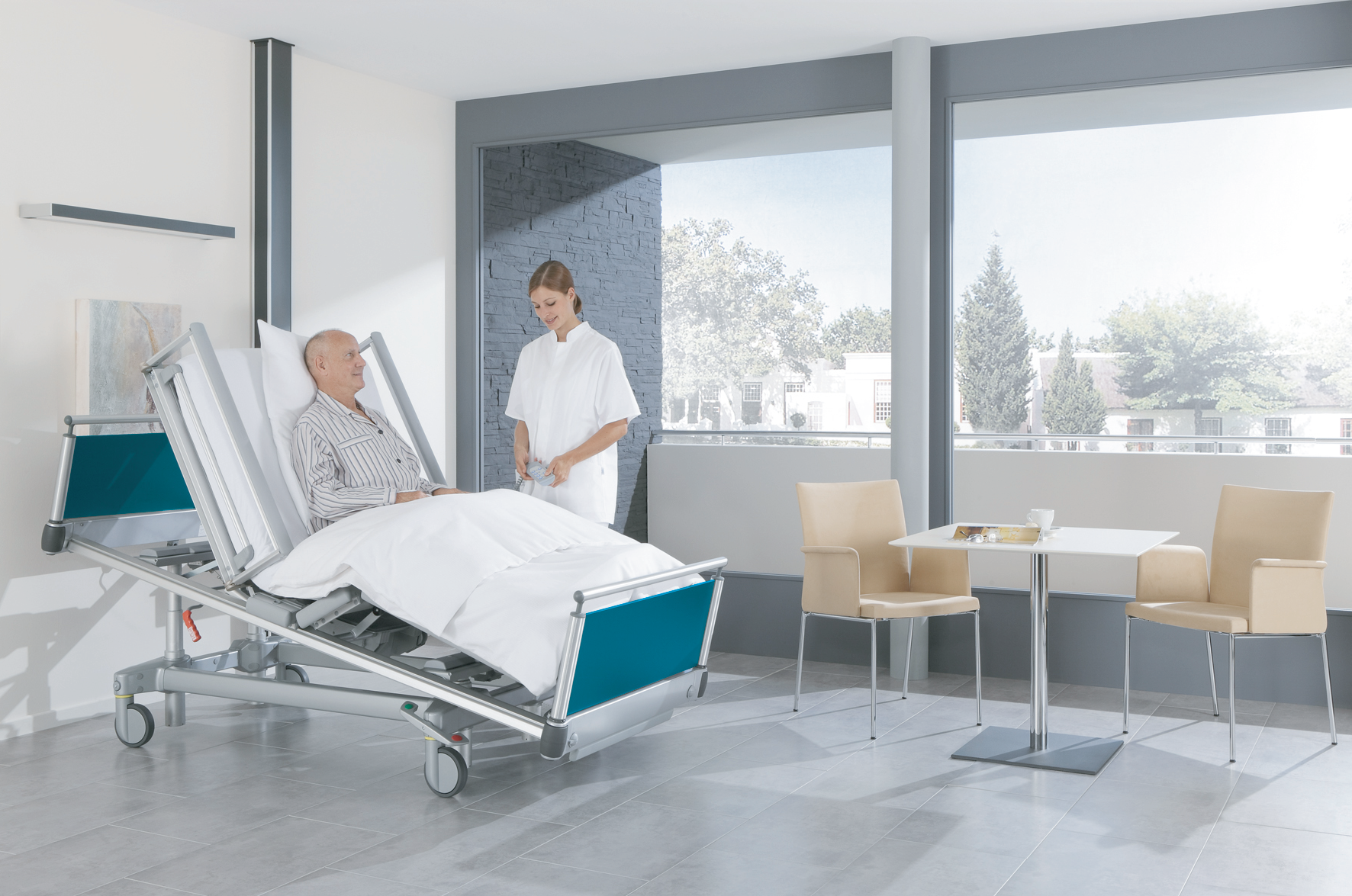 Modernform Health & Care, Healthcare furniture, Home care furniture, Hospital bed, Wheel chair,  เตี