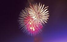 professional fireworks show