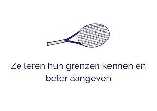 TennisCoaching voor kinderen _ Zelfvertr