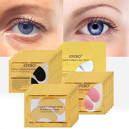 Gold Masks Crystal Collagen Eye Mask Gel Eye Patches for Eye Bags Anti-Wrinkle
