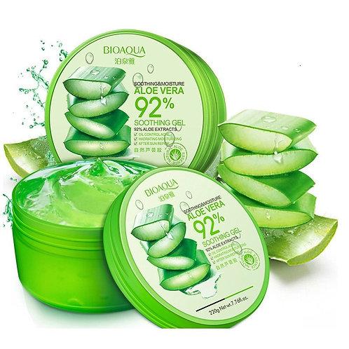 100% Pure Natural Aloe Vera Gel Smoothing Moisture Repair Cream