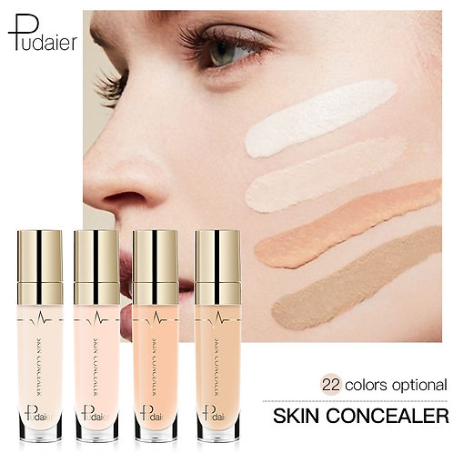 Pudaier 1PC 21Colors Concealer Liquid Rewind Beauty Face Make Up Eye Dark Circle