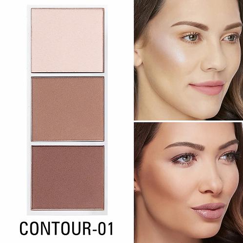 SACE LADY Highlighter Palette Makeup Contour Powder Matte Face Bronzer Make Up