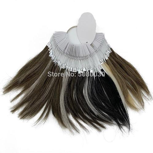 Farbring | Remy Haarfarbe Ring für Männer und Frauen Toupee Perücke