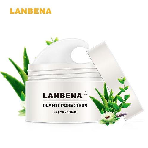 LANBENA Blackhead Remover Face Mask Pore Strip Black Peeling Nose Mask Acne