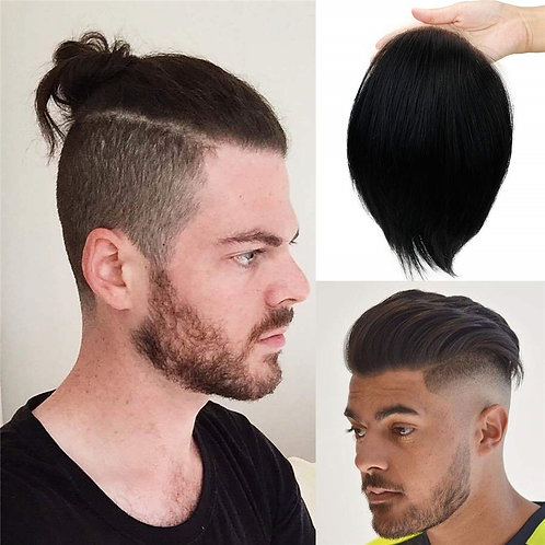 Men'S Toupee Hairpieces Replacement System for Men Swiss Lace