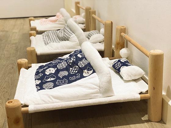 Pinewood Cat Bed
