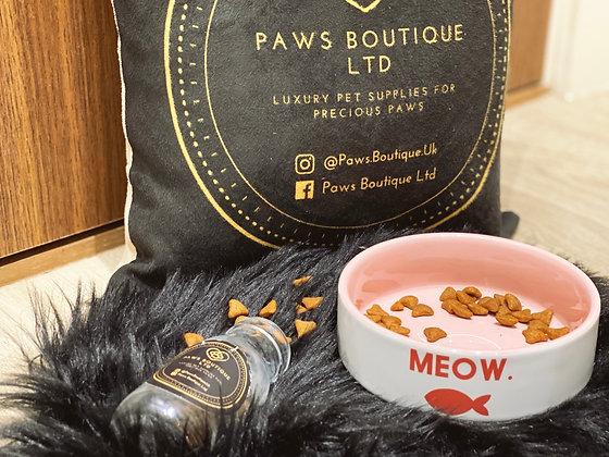 Ceramic Meow Bowl