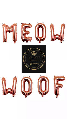 Meow/Woof Balloons