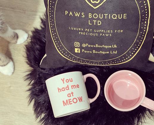 'You Had Me At Meow' Mug