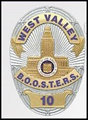 West Valley LAPD BOOSTERS Logo