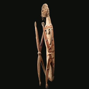 Asmat figure, West Papua
