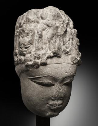 Monumental Shiva Head
