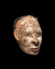 Iatmul head, Papua New Guinea