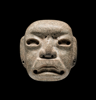 Funerary Mask with Necklace