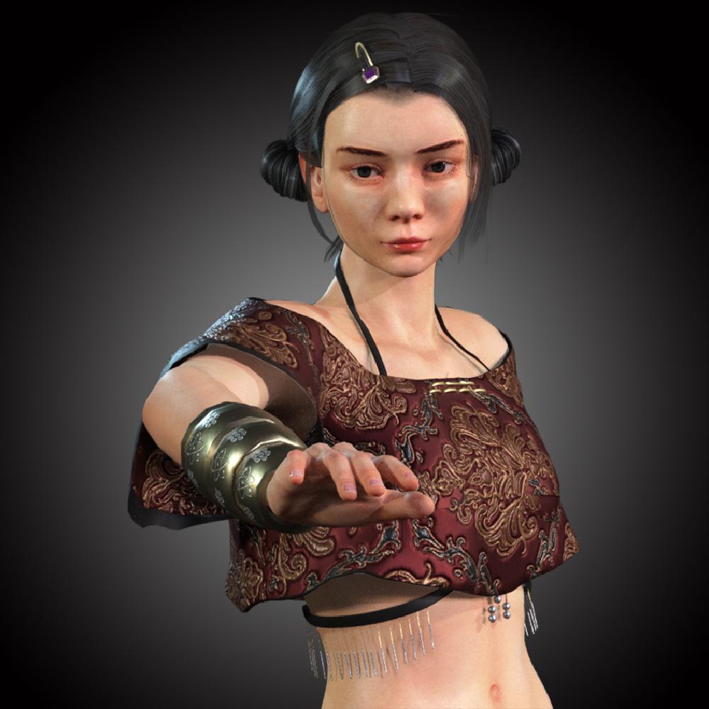 Girl Japanese Fighter