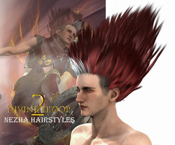 NeZha Hair