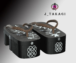 Japanese clogs