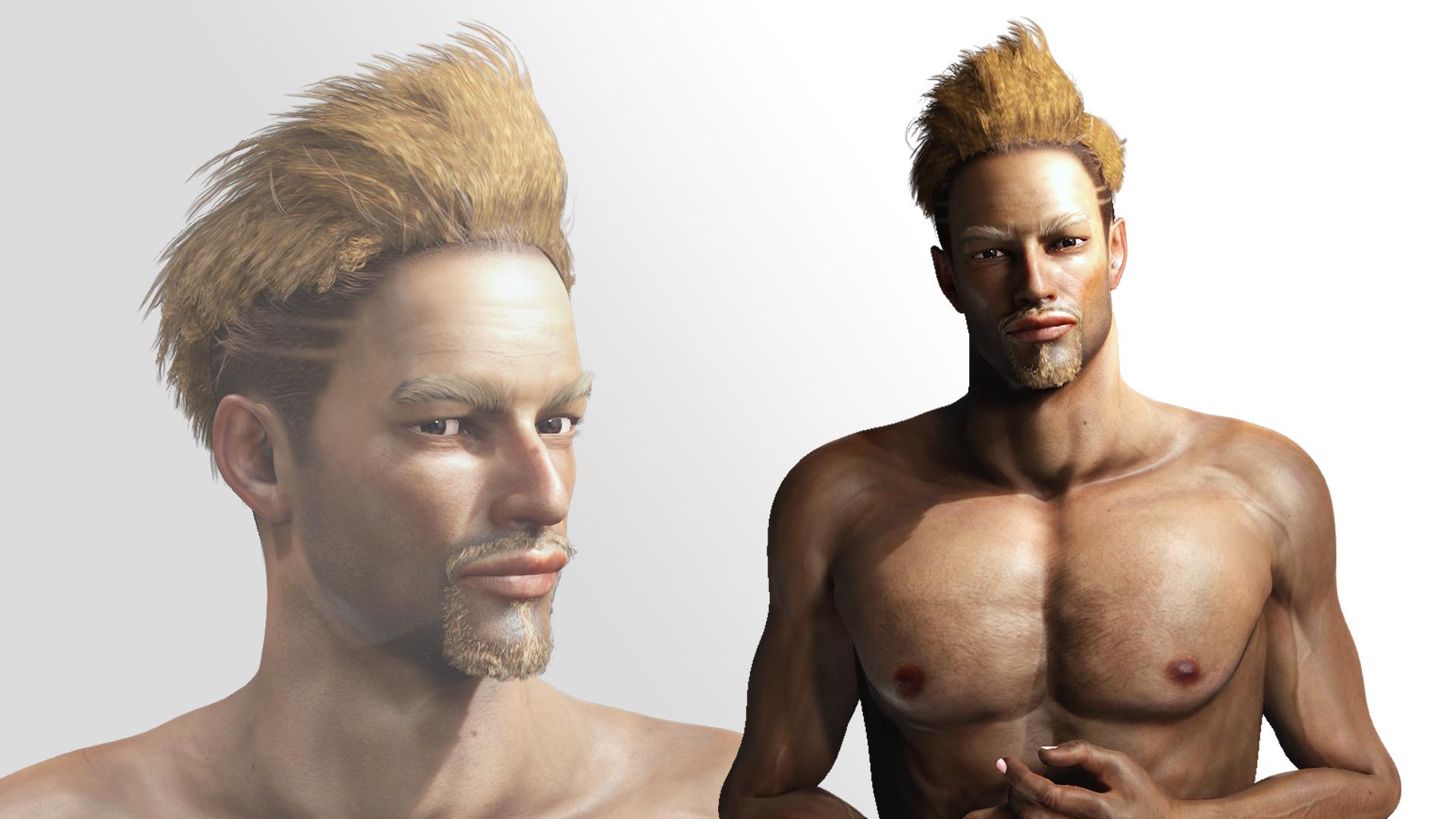 Visual Rock 5 - hair 3