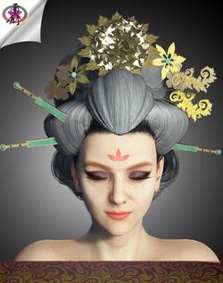 Ancient Empress - Queen Hairstyle
