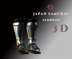 japan-samurai-jambeau-3d-model-low-poly-