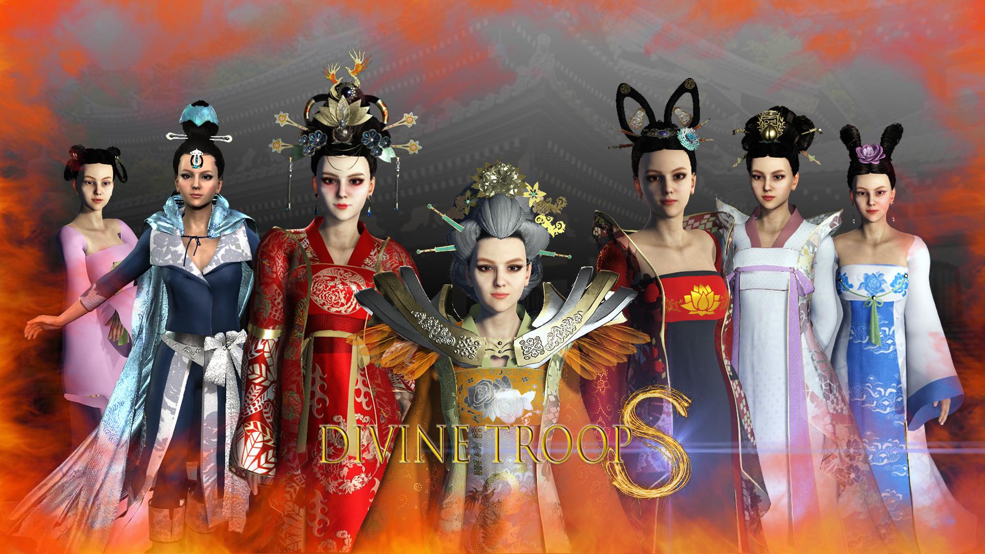 Divine Troop Super  Model03-Poster
