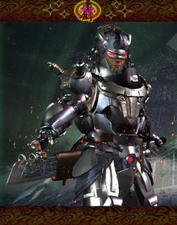Cyborg WarZone-Humanoid01