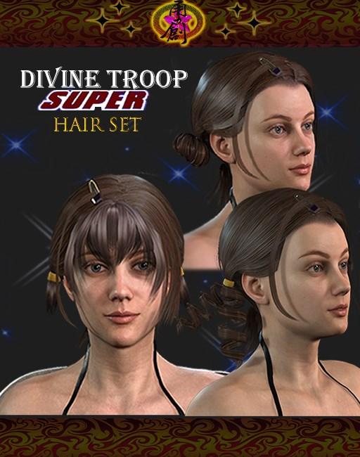 Divine Troop Super-Model 01 Hair Set