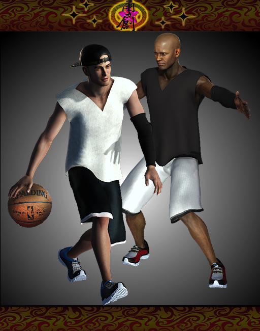 Sports Fashion - Street Basketball Outfit