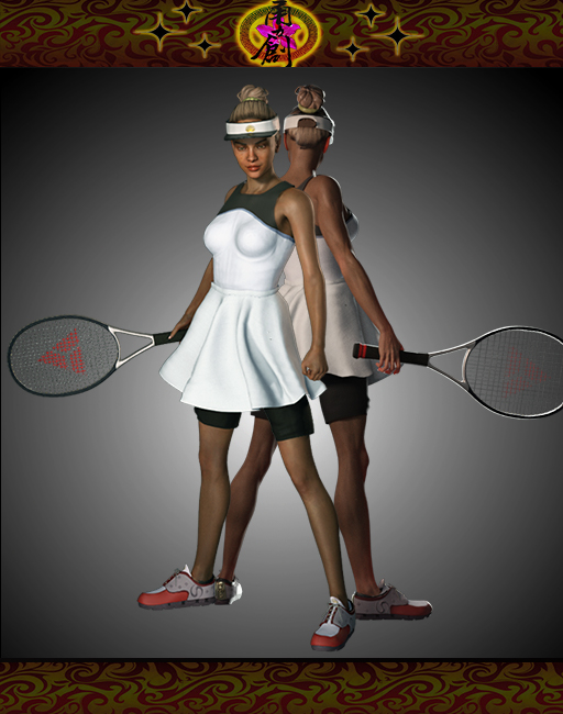 Sports Fashion - Tennis Outfit
