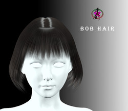 CGTrader-Business Hairstyles - Bob Hair-