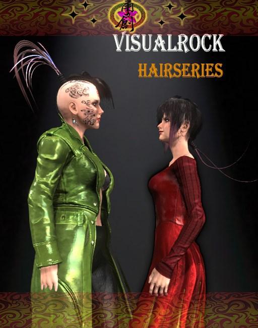 Visual Rock - Hair Series