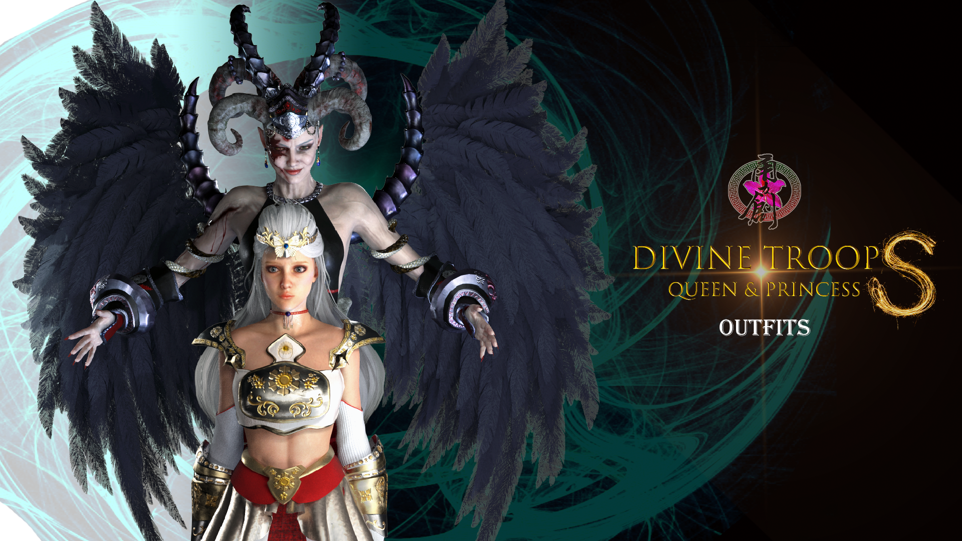 Divine Troop Super - Queen and Princess