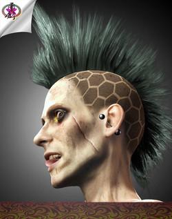 Apocalyptic Hair - Death Hawk-Thumbnail.