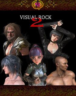 Visual Rock 2 - Hair Pack