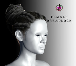 CGTrader-FemaleDreadlock-MainPoster