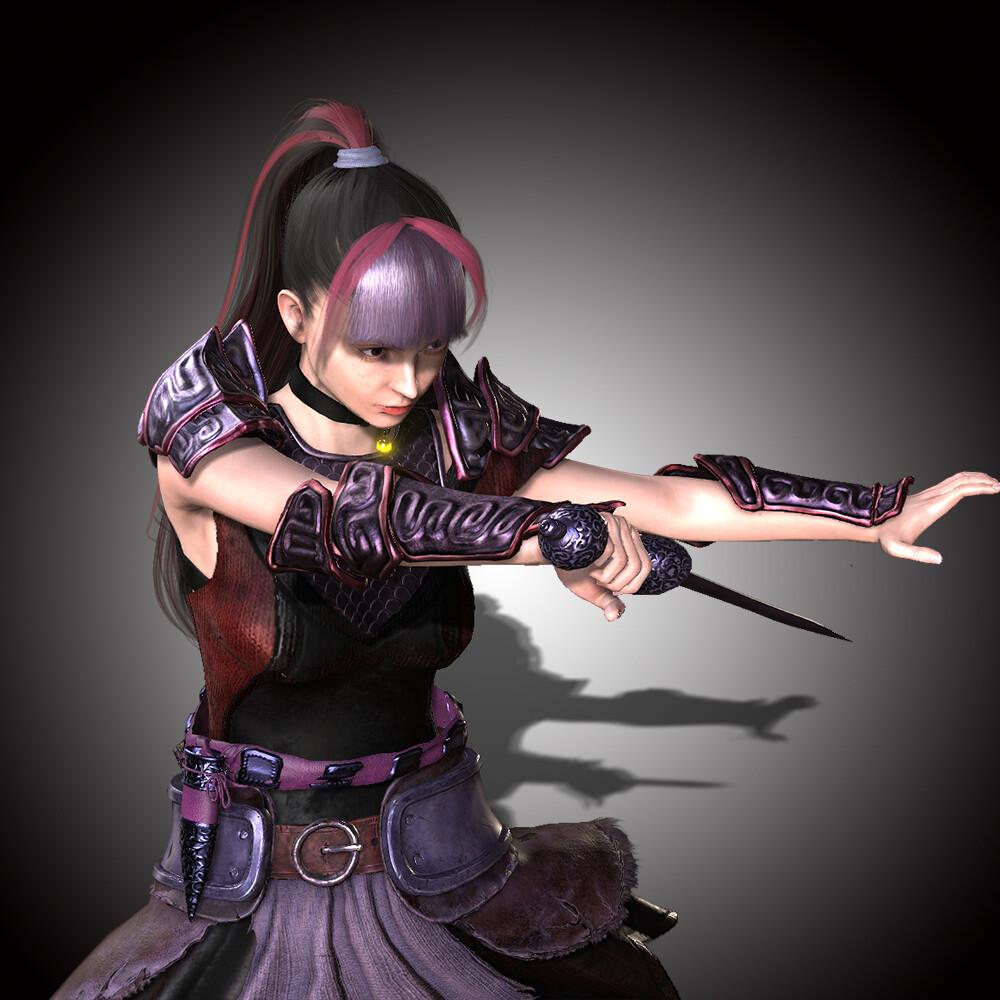 Asuna in Sword Art Online Game Alike