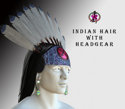 IndianHairwithHeadgear-Poster