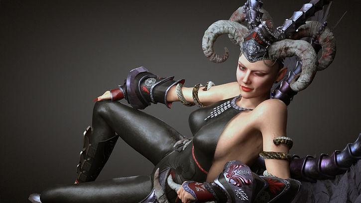 8.EvilQueen-SleepPose2.jpg