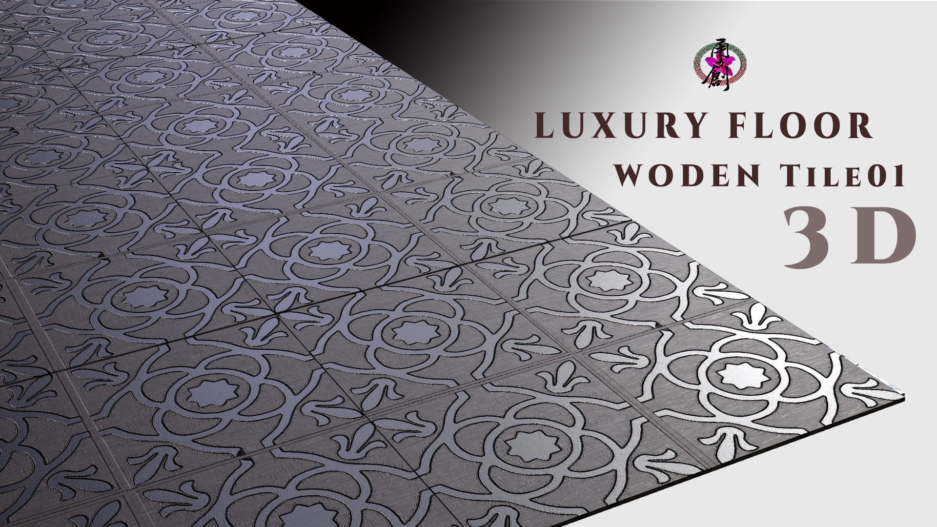 Luxury Floor - Wooden Tile01