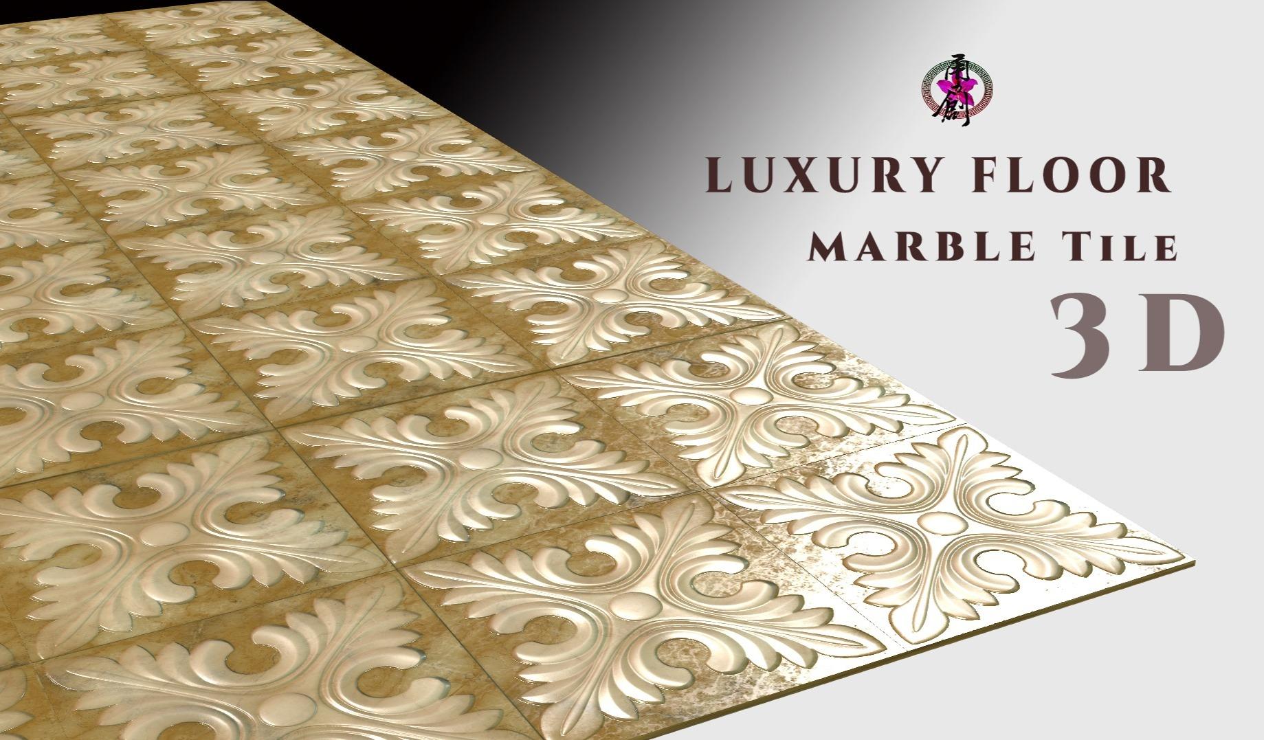 Luxury Floor - Marble Tile 01