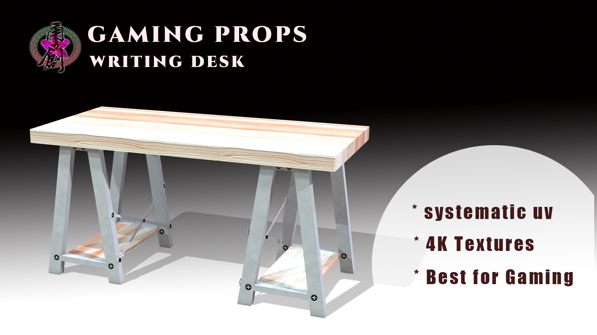 Gaming Props - Writing Desk
