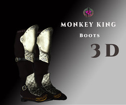 dt2-monkey-king-boots-3d-model-low-poly-