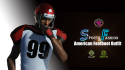 American Football Outfit-Poster