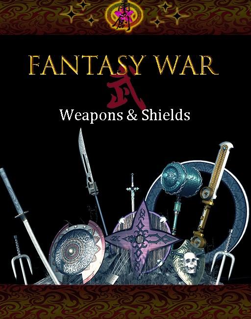 Fantasy War - Weapons & Shields