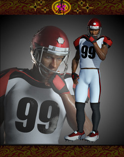 Sports Fashion - American Football Outfit