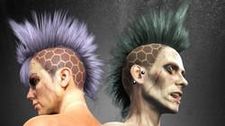 Apocalyptic Hair - Death Hawk-Poster01