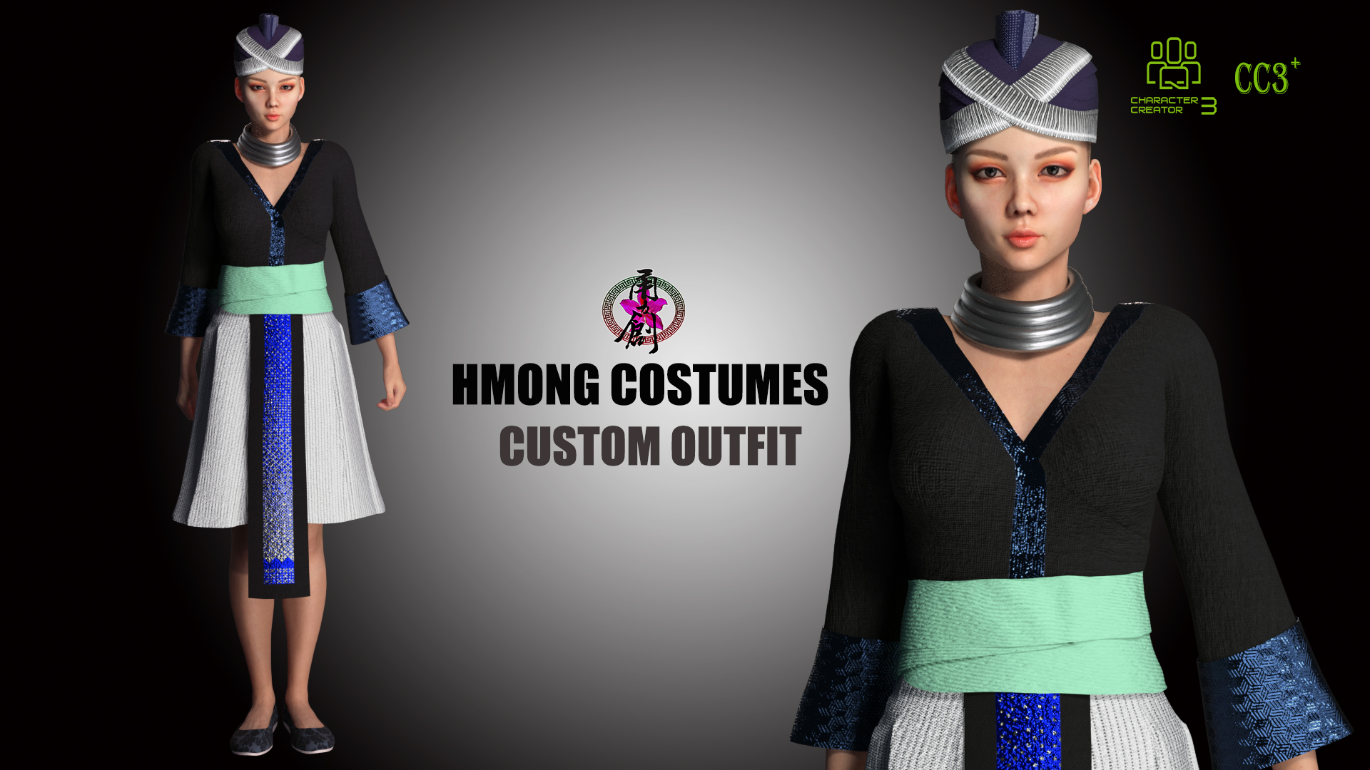 Hmong Costumes-Poster01