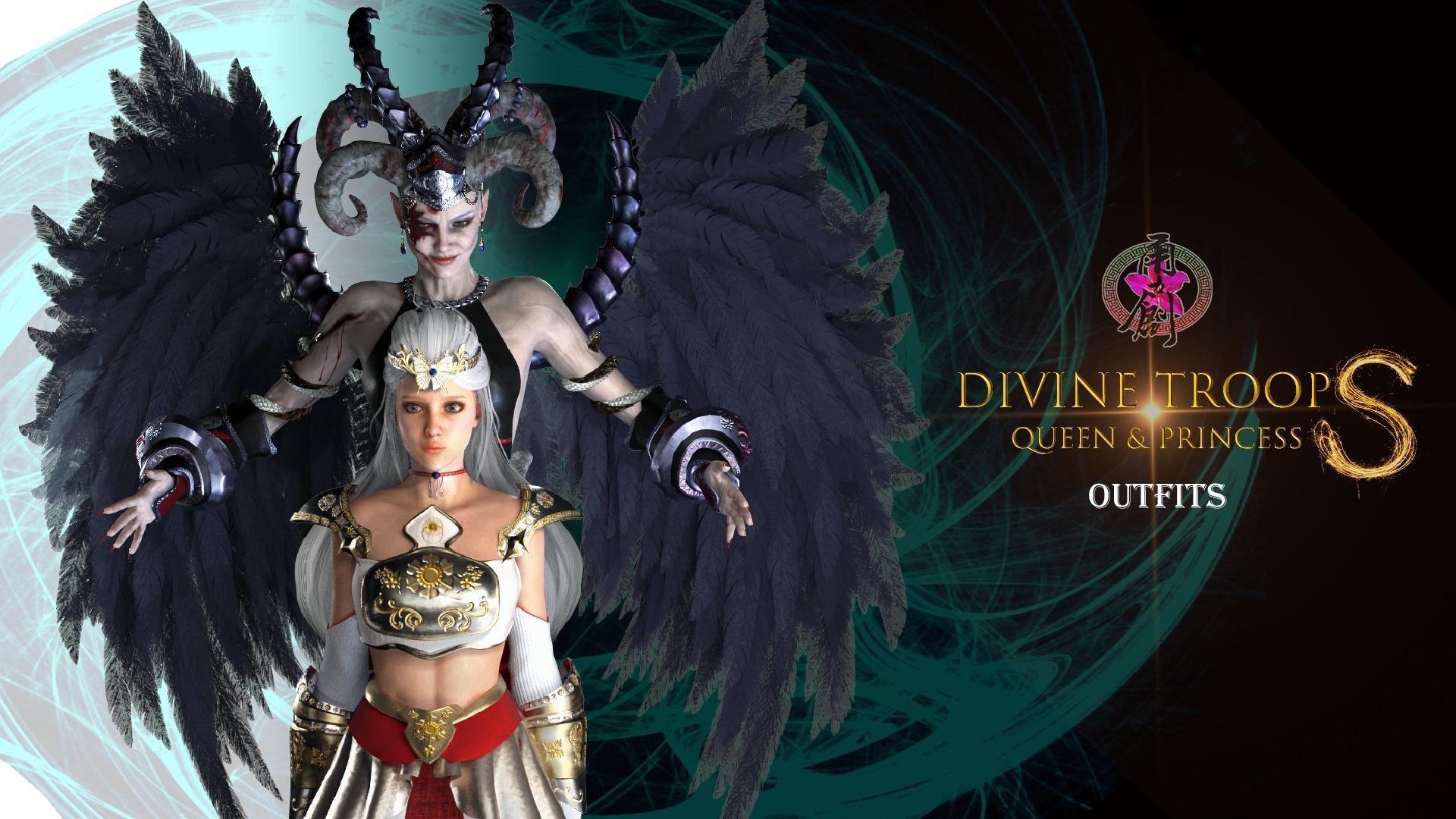 Divine Troop Super - Queen & Princess Outfits